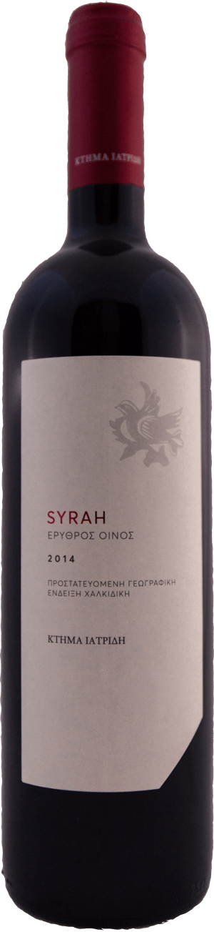 SYRAH bottle
